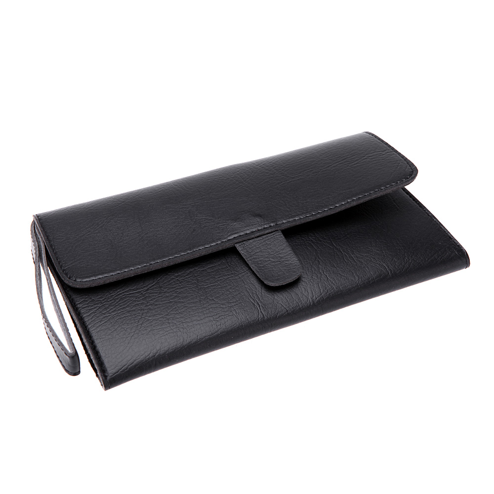 Купить с кэшбэком NEW pu Leather barber accessorieHair Scissor Bags Case Waist Pack Pouch Holder Hair Styling Tools Hairdressing Tools Accessories