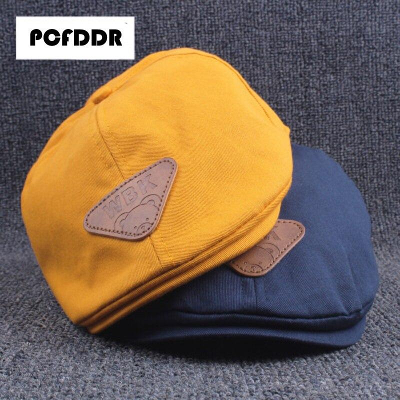 Pcfddr Boy Baskenmütze Sonnenschirm Kappe Koreanische Ausgabe Herbst Und Winter Flut Kinder Sonnencreme Baby Ente Zunge Kappe.