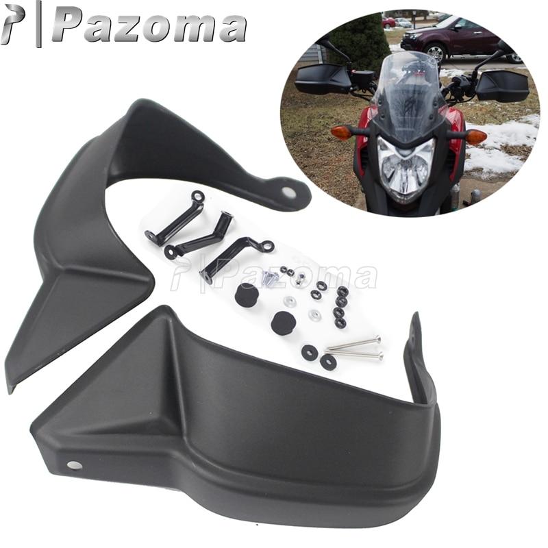 Protecteurs de protection des mains en plastique ABS noir moto pour Honda NC700 X 12-13 NC750 X 14-17 NC750 X DCT 14-15 NC750S 16-17