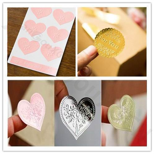 70pcs DIY Baking seal stickers Valentines Day love noble Relief Gift Tags festival Wedding Favors Party Label Marks Decoration