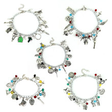 Fashion Jewelry Rights Game Charm Bracelet Legend Zelda Supernatural Dean Evil Woman High Quality Crystal Bracelet Right(China)