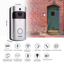 EKEN V5 Smart WiFi Video Doorbell Camera Visual Intercom with Chime Night vision IP Door Bell Wireless Home Security Camera