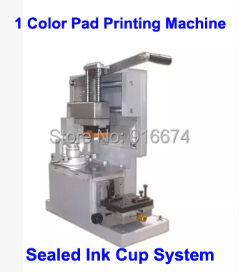 High Quality Manual Pad Printing Machine with Sealed Ink Cup System Pad Printer Date Printing Pen/Light/Gift/Glass