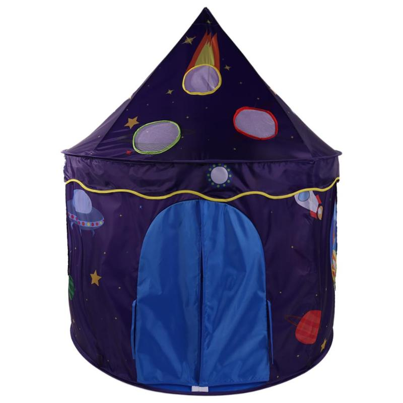 Lovely Folding Ocean Ball Pool Kids Toys Tent Children Playing House Portable Starry Sky Tent Children Outdoor Toy Gift