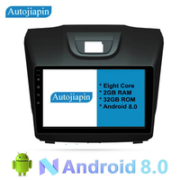 AUTOJIAPIN 9 Eight Core Android 8.0 2G RAM 1024*600 for Isuzu DMAX D MAX Chevrolet Colorado S10 2013 gps navigation radio