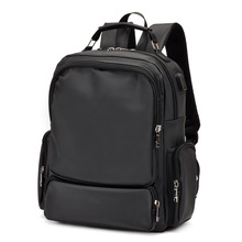 hot deal buy wanu 2017 leisure men's backpack young waterproof oxford bags fashion backpacks campus school bag male totes travel bag have usb