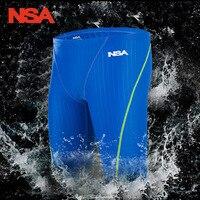 NSA Jammer Mężczyźni Chłopcy Stroje Kąpielowe Pływanie Strój Kąpielowy Surf Board Szorty Szorty Stałe Jammer Profesjonalne Mężczyzn Konkurencyjne Pływać Pnie