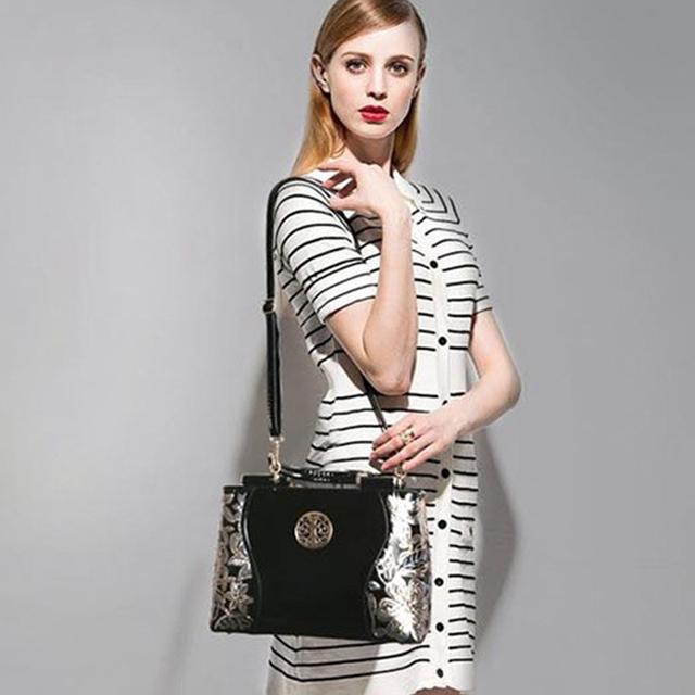 Wilicosh Brand PU Women Leather Bag Famous Designer Top-Handle Handbag Women Messenger Bags Female Shoulder Bag Tote Bolsa HC217