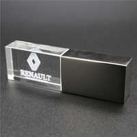 usb2.0 metal crystal Renault car key model USB Flash Drive 4GB 8GB 16GB 32GB precious stone pen drive special gift