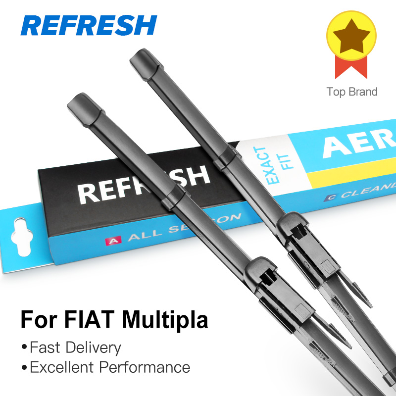 REFRESH Щетки стеклоочистителя для FIAT Multipla Fit Pinch Tab Arms 2006 2007 2008 2009 2010