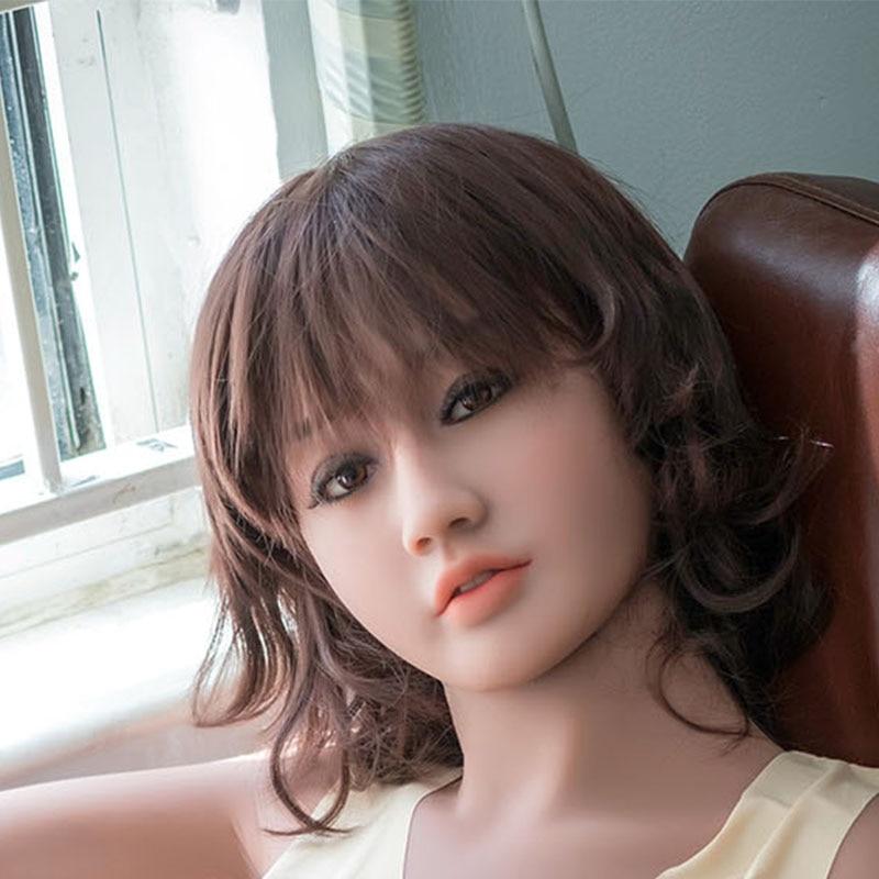 WMDOLL New 106# TPE  doll HEAD  realistic sex dolls   for 140-170cm bodyWMDOLL New 106# TPE  doll HEAD  realistic sex dolls   for 140-170cm body