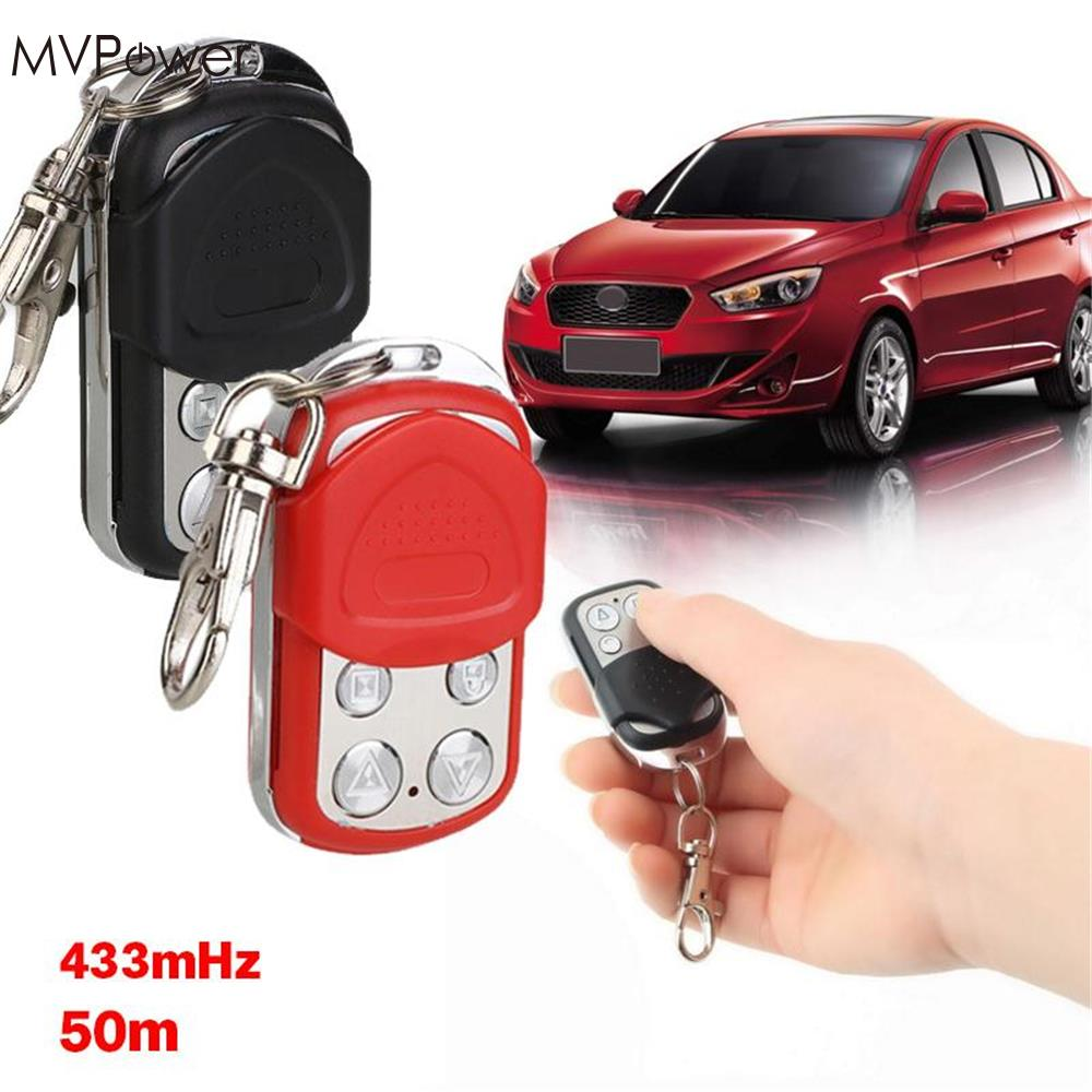 Leory Wireless Rf Remote Control Abcd 4 Channel Button 433 Mhz Solved My Controlled Car Circuit Mvpower Universal 433mhz Cloning Waterproof Copy Handle Garage Gate Electric Door Key