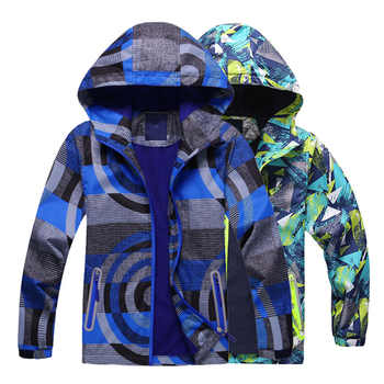 Fashion 2019 Spring Boys Girls Jackets Kids Boys Outerwear Waterproof Windproof Hoodies Jackets For Children's Polar Fleece Coat - DISCOUNT ITEM  40% OFF All Category