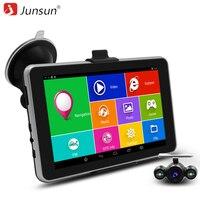 7 Inch HD Car GPS Navigation Android Navigator Rear View Tablet Pc Bluetooth AVIN WIFI Navitel