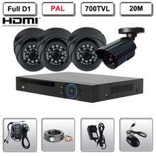 4CH H.264 DVR four Indoor Outside CCTV Video Surveillance Safety Digital camera System