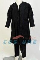 Child Star Wars Darth Maul Uniform Jedi Tunic Robe Cloak Black Version Halloween Cosplay Costumes For