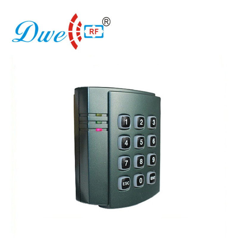 DWE CC RF 125khz plastic case access control keypad housing key tags proximity rfid card reader