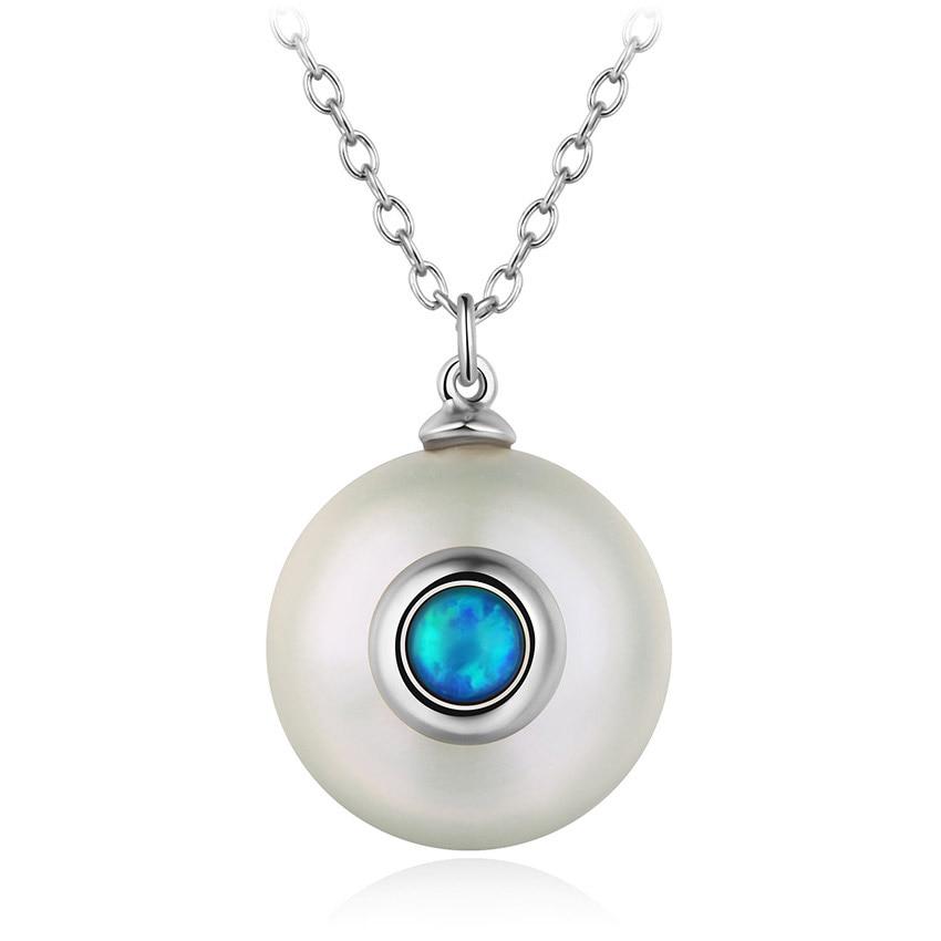 silver pearl necklac