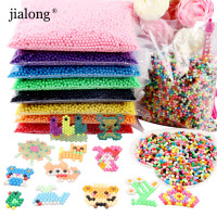 Wholesale 24 Colors Choice 5mm Aquabeads Perlen 6000pcs Bag Magic Water Beads Aqua Beads Puzzles Toys