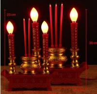 direct selling fugui ronghua electric incense burner electric candle light bulbs for Buddha lamp inserted statues Home wedding