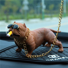 Yesplease автомобиль украшения собака украшение автомобиля творческая личность высокоскоростной автомобиль аксессуары автомобиль мода моделирование собака кукла