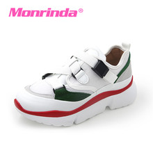 Monrinda Canvas Sneakers for Women Platform Sport Shoes Woman Durable Running Ladies White Trainers chaussure femme 7 7.5