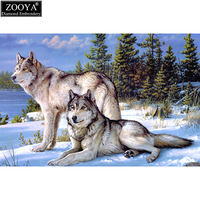Crafts Diamond Embroidery Wolf Diy Full Diamond Painting Kit 30x40cm For Square Drill Rhinestone Pasted Unfinish