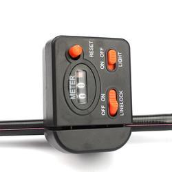 Mounchain ręczny podświetlany linka wędkarska licznik precyzyjny liczenie cyfrowy wyświetlacz do wędkowania elektroniczny podajnik pudełko ze sprzętem wędkarskim