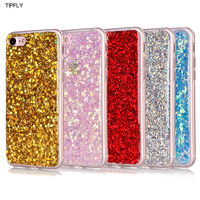TIPFLY Luxury Glitter Bling Colorful Cool Silicone Soft TPU Case Coque For iPhone 5 5s SE 6 6s 6plus 7 7Plus Phone Accessories