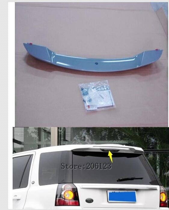 цена на 2007 2008 2009 2010 2010 2012 2013 2014 2015 For Land Rover Freelander 2 ABS Plastic Unpainted Color Rear Trunk Wing Lip Spoiler