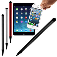 pen capacitive 3 Pcs/lot Universal Stylus Pen Capacitive Screen Touch Pen for iPhone 7 iPad Air 2 Samsung Tablet Phone PC Pen Drop Shipping (3)