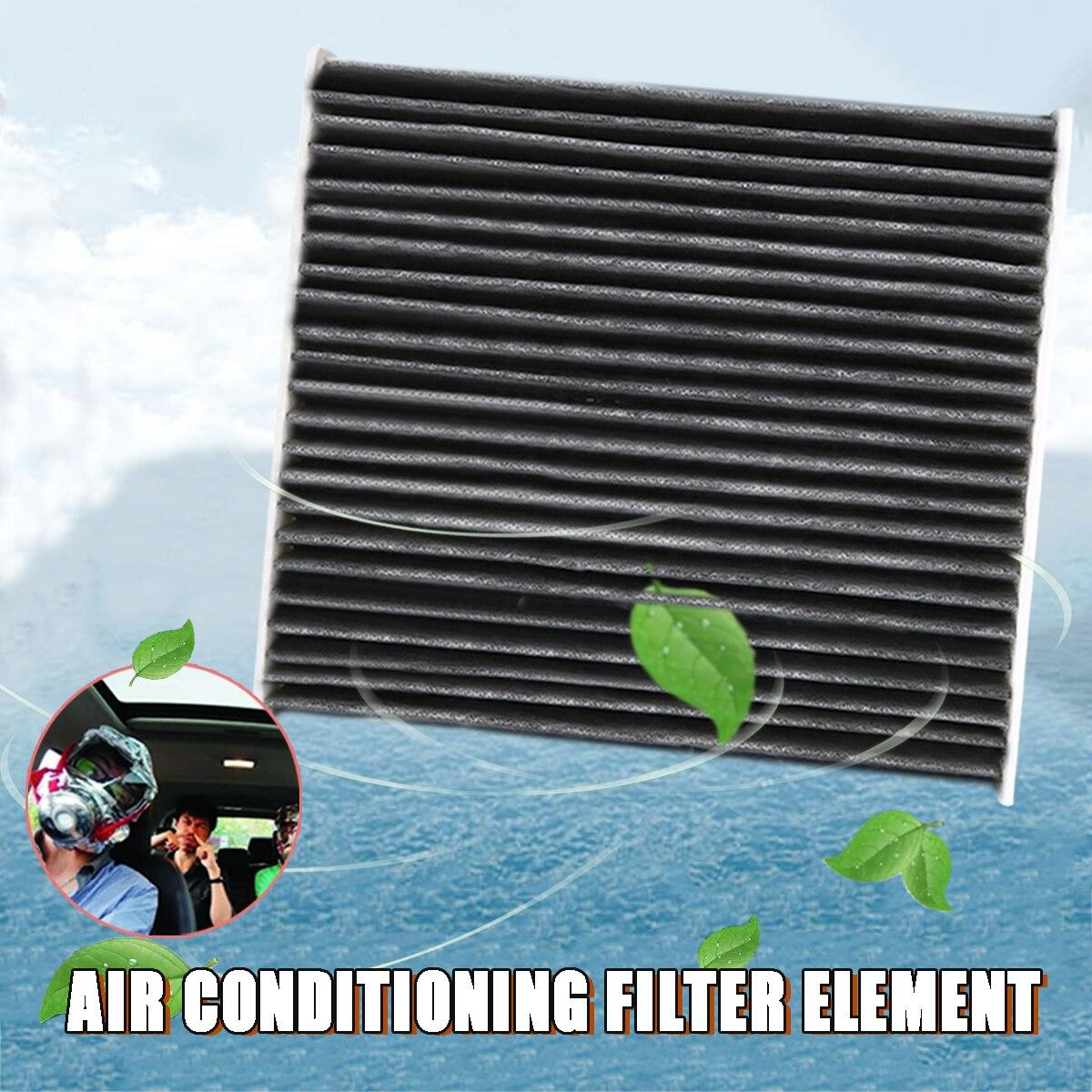 Dla Toyota 1pc filtr powietrza kabinowego węgla 87139-YZZ08 uniwersalne wsparcie Camry RAV4 Yaris Scion Prius Corolla