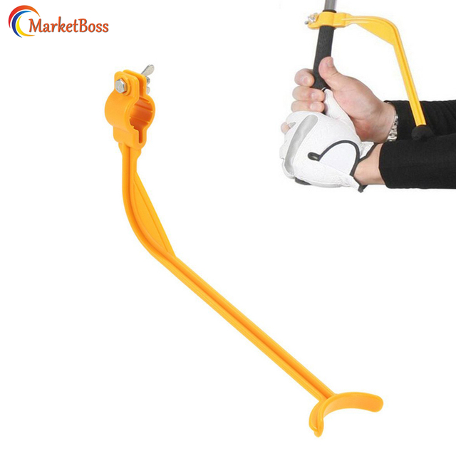 US $3 37 |MarketBoss Golf Swing Trainer Corrector Practice Guide Arm Angle  Posture Gesture Alignment Golf Club Wrist Training Aid Tool-in Golf