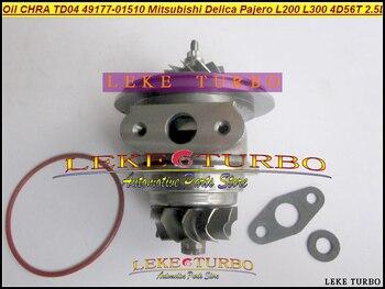 Oil Cooled Turbo CHRA Cartridge TD04 49177-01510 49177 01510 MD106720 For Mitsubishi SHOGUN Delica Pajero L200 L300 4D56 2.5L