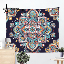 Nordic Home Decor Hanging Tapestries Boho Nature Forest Giant Beach Towel Vintage Abstract Tapestry On The Wall Carpet Beach