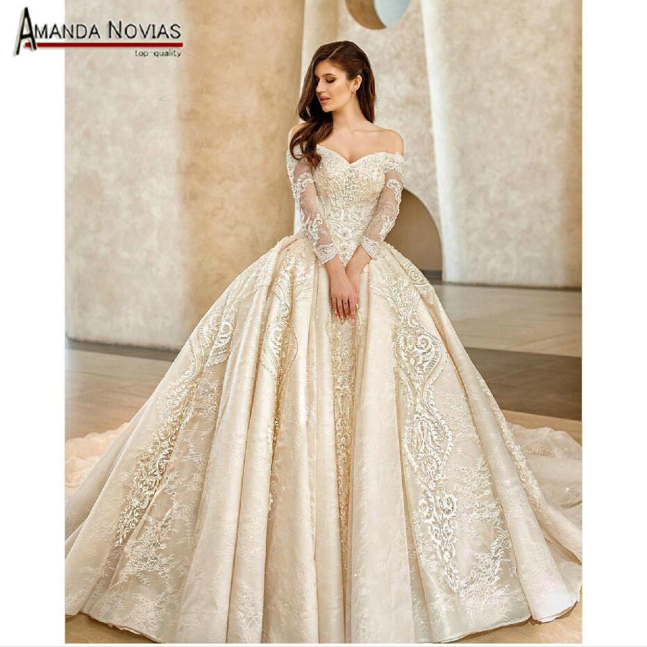2019 Wedding Gown Design: Aliexpress.com : Buy Amanda Novias 2019 New Design Wedding