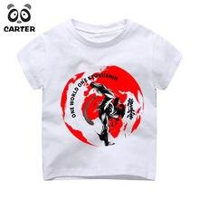 cf06e8ae3b4cb Garçon et Fille Impression Kyokushin Karaté Kanji et Symbole T-shirt Enfants  Fitness T Chemises