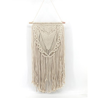 YRHCD Original European and American style Handmade Bohemian tapestry Hanging for Living room Decorative Wall Hanging ornament