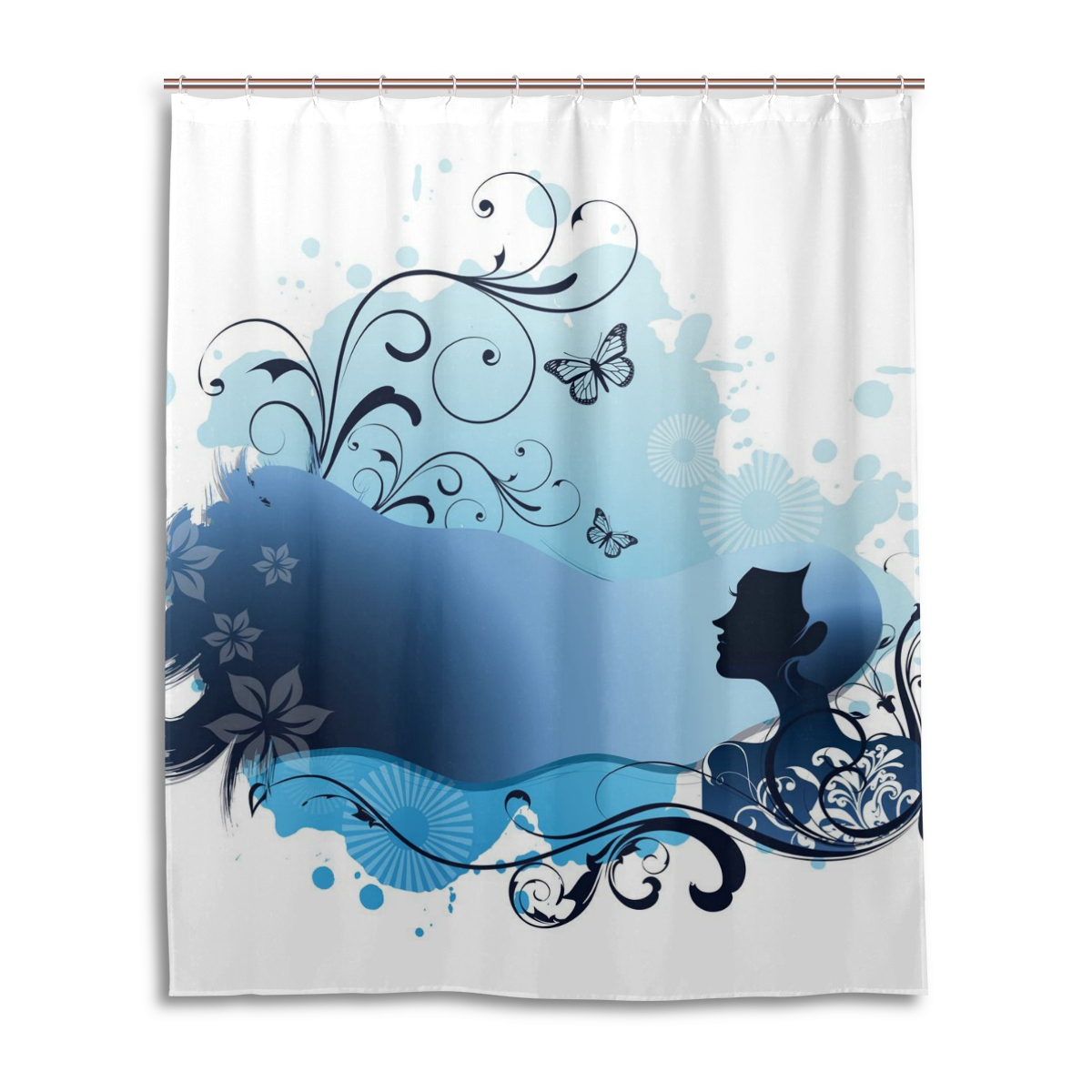 Mold Resistant Shower Curtain