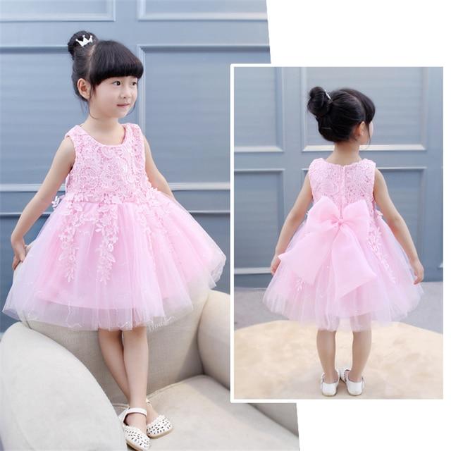 Bibicola S Dress Children Summer Clothing Party Princess Wedding Dresses Kids Birthday Outfit Costume Tutu