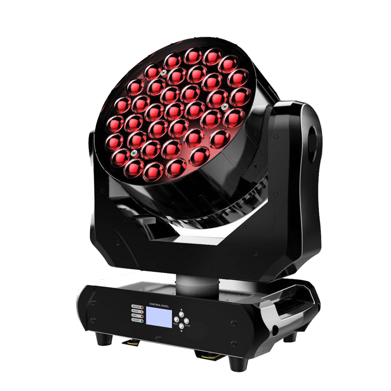 New Arrival 37leds*15W 4in1 ZOOM Wash RGBW LED Moving Head Light Stage Disco Moving Head Mini Bee Eye With 14 Channels DJ Light