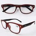Пластик читатель женщины и мужчины ретро черный оптического считывания очки