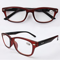 Plastic Reader Women and Men Retro Black Optical Reading Glasses