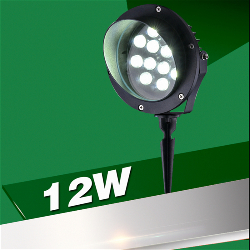 Image 4 - Spike model IP65 Outdoor led spot lamp for garden ,park ,trees ,afforest,landscape ,100 240V input 3W/6W/9W.12W.18W spot light-in Outdoor Landscape Lighting from Lights & Lighting on AliExpress