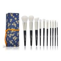 MSQ 10pcs Makeup Brushes Set Soft Hair Face Cheek Brush Powder Foundation Eyeshadow Make Up Brush
