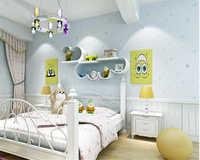 Papel de pared 3d para niños y niñas, papel de pared para niños, dormitorio para niños
