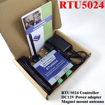 RTU5024 GSM automatyczne huśtawka otwierania bramy przesuwne drzwi garażowe w domu GSM zdalnego kontrolera dostępu wyjście przekaźnikowe wsparcie App tanie i dobre opinie HUOBEI Brak Fail Safe z Sygnału