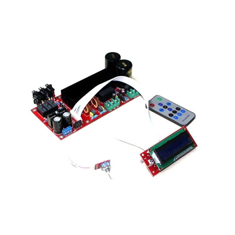TDA8954 + PGA2311 digital remote amplifier board /High-power high-efficiency Class D digital audio amplifier board(210W +210 W) 3pcs pam8403 mini digital power amplifier board class d audio module 2x3w