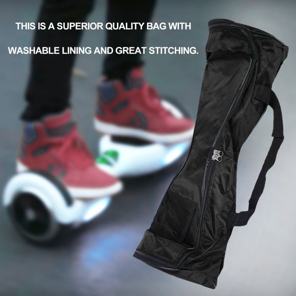 4.5inch Black Carrying Bag For 2 Wheels Self Balancing Electric Scooter Skateboard Smart Balance Sport Handbags Storage Bag New 100% Original