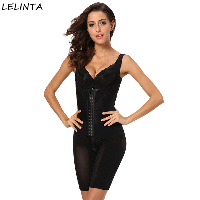 87ef3aed544 Lady Seamless Full Body Shaper Waist Trainer Control Firm Tummy Women  Slimming Corrective Shapewear Slim Waist Corsets Bodysuit